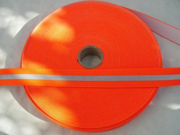 Reflexband - Meterware, 35mm orange